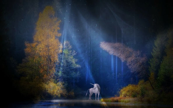 Mystical Mythical Creatures Unicorn Fairy Tales