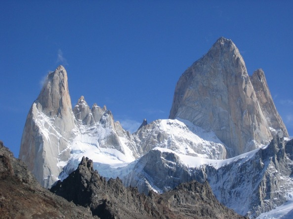 Argentina Mountains Cerro Torre Fitz Roy