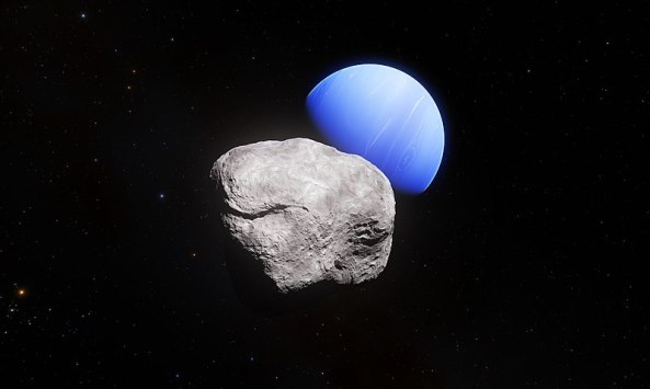 800px-Neptune_and_its_smallest_moon_Hippocamp_(artist's_impression)