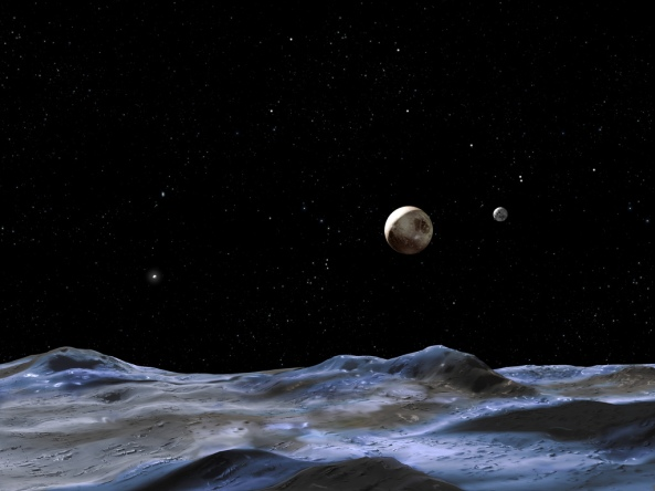 pluto Credit NASA, ESA and G. Bacon (STScI)