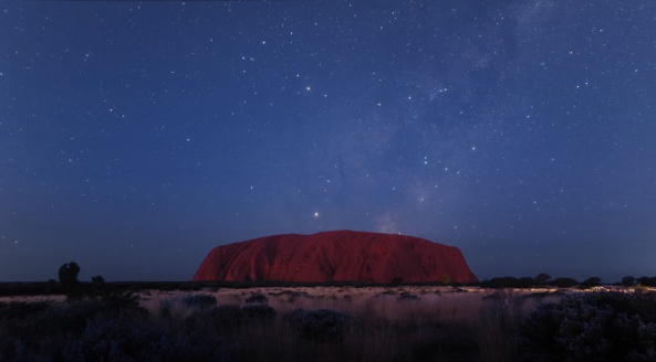 UluruTwilightWith_SaturnRising